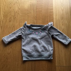 Baby girl pullover sweater. Size 3m